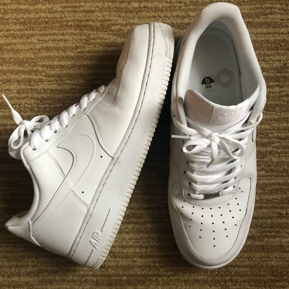 Nike Other - White nike af1 uptowns size 12 air force one